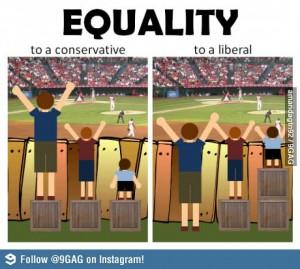 definir l'egalité